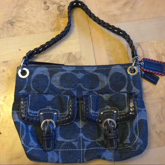 450bd0560d0 Coach Bags   Denim Purse   Poshmark